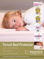BabyCenter Hippychick Tencel Single Mattress Protector (Lemon, 90cm x 200cm)