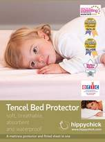 Hippy Chick Hippychick Tencel Cot Mattress Protector (Blue, 60cm x 120cm)
