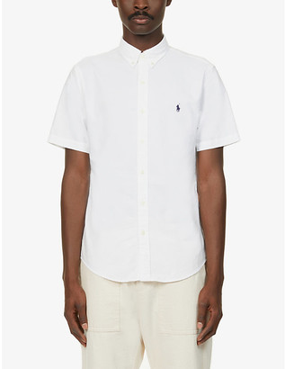 Polo Ralph Lauren Short-sleeved slim-fit cotton shirt