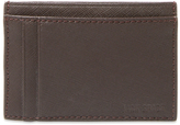 Jack Spade Leather ID Wallet