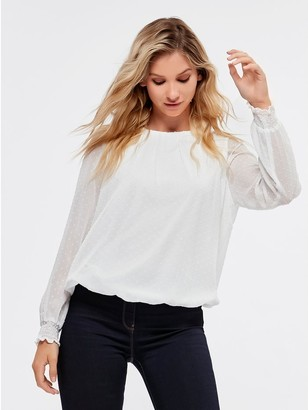 M&Co Textured blouse