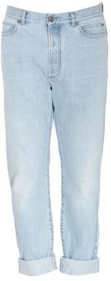 Balmain High Waist Denim Jeans