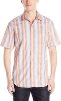 Robert Graham Men's Watten Short Sleeve Woven Shirt
