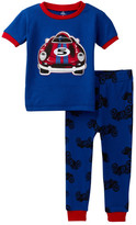 Petit Lem Race Car Pajama (Baby Boys)