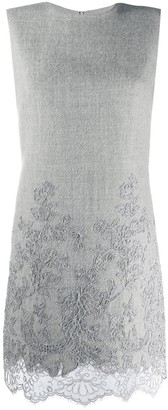 Ermanno Scervino Lace-Insert Shift Dress