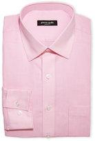 Pierre Cardin Pink Check Slim Fit Dress Shirt
