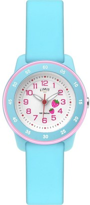 Limit Girls Analogue Classic Quartz Watch with Silicone Strap 6249.72