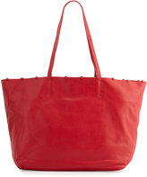 Cynthia Rowley Tabitha Ball-Trim Leather Tote Bag