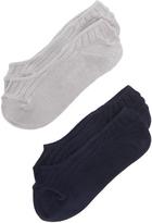Madewell Heathered No Show Sock Set