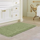 "Norcho Soft Microfiber Water Absorbent Non-slip Antibacterial Rubber Luxury Bath Mat Rug 17""x27"" Grass Green"