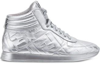 Fendi Prints On high-top sneakers