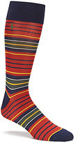 Polo Ralph Lauren Variegated Stripe Crew Dress Socks