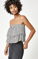 La Hearts Overlay Tube Top