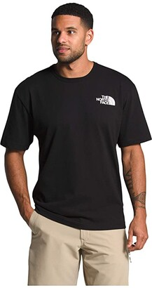 The North Face Tonal Bars Short Sleeve Tee (TNF Black) Men's Clothing