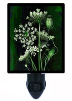 Night Light Designs Floral Night Light - Queen Anne's Lace - Flower - LED NIGHT LIGHT