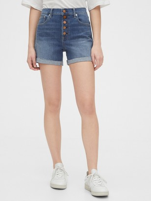 "Gap 4"" High Rise Denim Shorts"