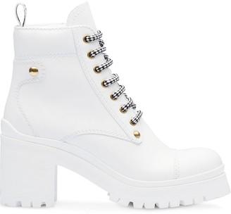 Miu Miu Leather booties