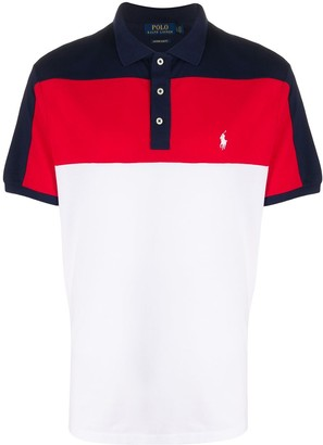 Polo Ralph Lauren Colour-Block Polo Shirt