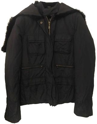 Armani Jeans Black Coat for Women
