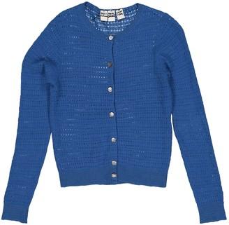 Marc Jacobs Blue Cashmere Knitwear