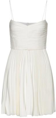 KHAITE Exclusive to Mytheresa Lou Lou pleated minidress