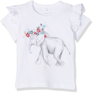 Name It Baby Girls' Nbfgaka Ss Top T-Shirt