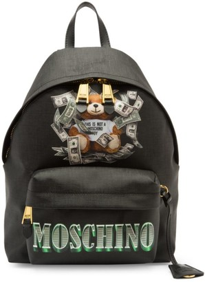 Moschino Dollar Bear Backpack