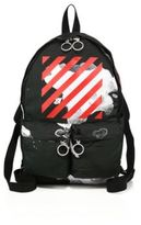 Off-White Paint Splashed Backpack