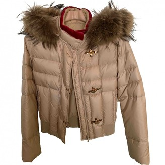 Fay Gold Jacket for Women
