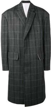 Calvin Klein single breasted coat