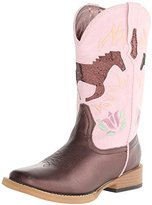 Roper Pony Square Toe Cutout Cowboy Boot (Toddler/Little Kid)