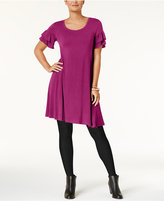 Style&Co. Style & Co Ruffle-Sleeve Dress, Created for Macy's