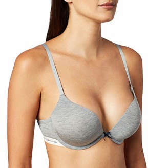 Tommy Hilfiger Women's Modal Logoband Tailored Push up Bra