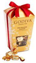 Godiva Milk Chocolate Caramel Holiday Bucket Box