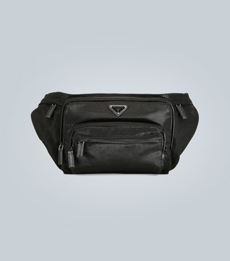 Prada Nylon belt bag with logo