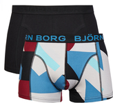 Bjorn Borg Field Colour 2 Pack Trunks