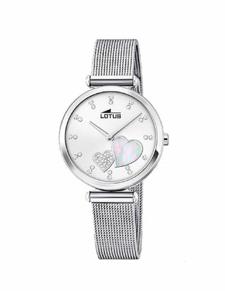 Lotus Womens Analogue Quartz Watch with Stainless Steel Strap 18615/1