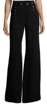 Temperley London Halcyon Front Button Bell Pant