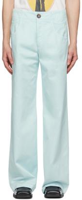 Telfar Blue 6-Pocket Trousers