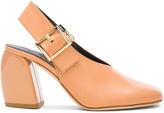 Tibi Leather Jillian Heels