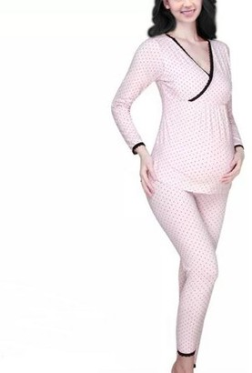 Its All Goods Maternity Pajama Set