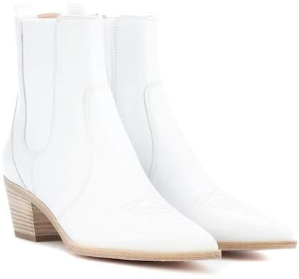 Gianvito Rossi Austin leather Chelsea boots