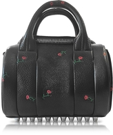Alexander Wang Mini Rockie Rose Embossed Leather Satchel