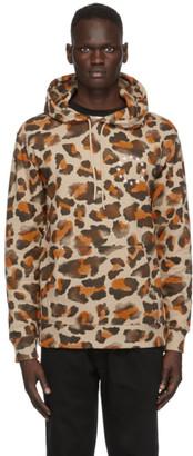 Études Beige Leopard Klein Europa Hoodie