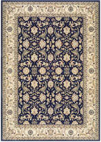 "Kenneth Mink Infinity Persian Navy/Ivory 5'3"" x 7'6"" Area Rug"