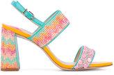 Sophia Webster embellished sandals - women - Calf Leather/Leather/PVC - 37
