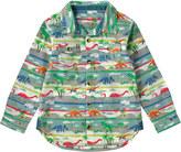 Cath Kidston Dino Stripe Kids Shirt