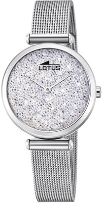 Lotus Womens Analogue Quartz Watch with Stainless Steel Strap 18564/1