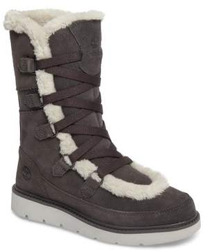 Timberland Women's Kenniston Faux Fur Water Resistant Mukluk Boot