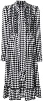 Ermanno Scervino gingham dress with frills